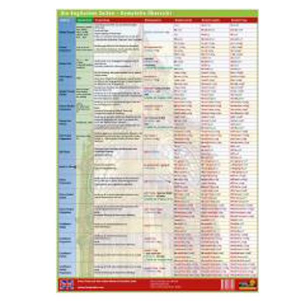 Englische Zeiten u00fcbersicht In Tabelle Zeitstrahl Pictures to pin on Pinterest